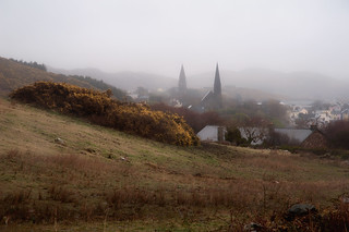 A foggy day in Clifden