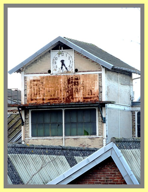 L'horloge sur les toits