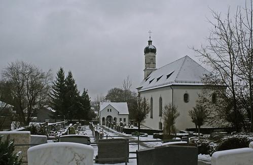 st oswald leitershofen landkreis augsburg friedhof cemetary schwaben swabia bayern bavaria deutschland germany