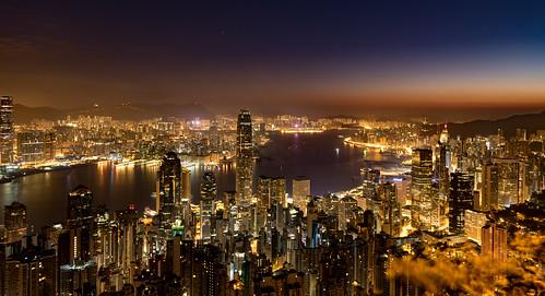 lights night bluehour ships sky water reflections city stars boats longexposure harbour skyscrapers hongkong hongkongisland hk 攝影發燒友