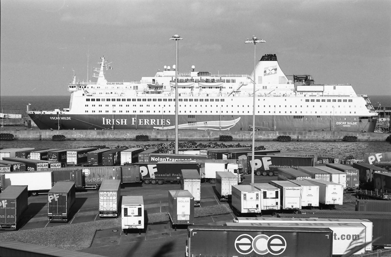 Irland 2017: von Rosslare nach Cherbourg (analog)