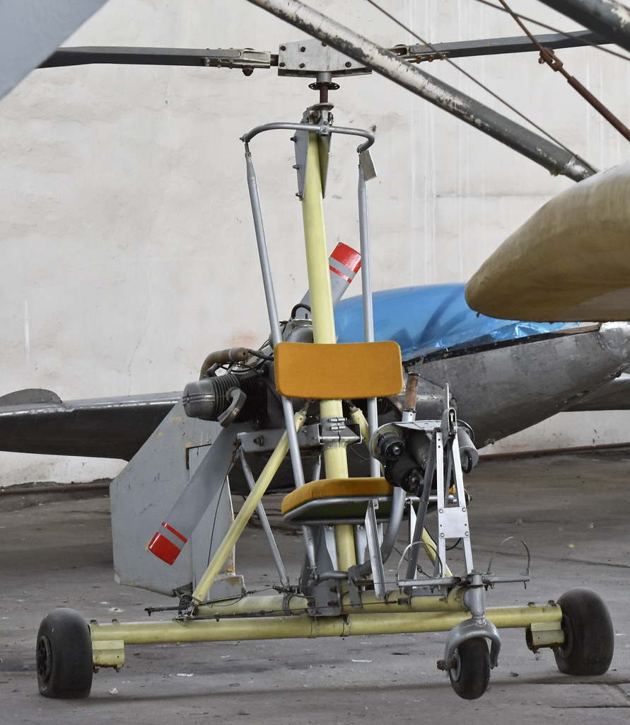 Unknown Autogyro – Monino museum, Russia  | There seems to b