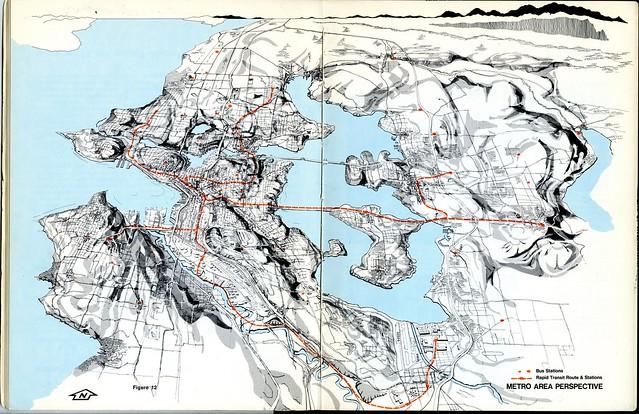 The Rapid Transit Plan for the Metropolitan Seattle Area - Metro Area Perspective - 1970