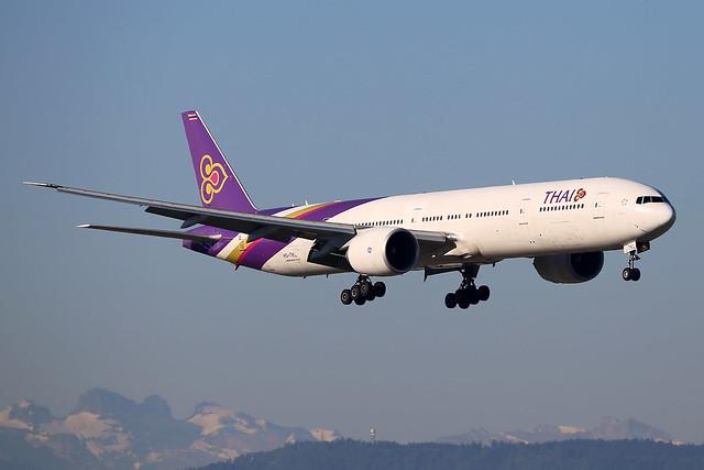Thai Airways International Boeing 777-3AL/ER HS-TKL