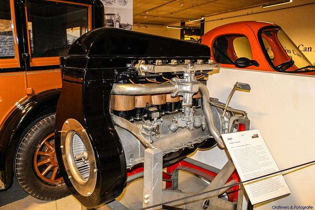 1927 Franklin 11B Sedan Engine 3.3. V6
