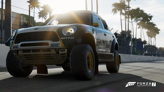 FM7 2014 MINI Monster Energy ALL4 Racing X-Raid, Long Beach, Beach Bum | by Sp33dyKat