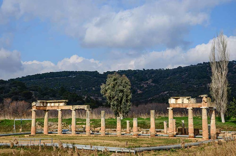 The sanctuary of Artemis at Brauron (2) - (Ancient Greek Sites Project