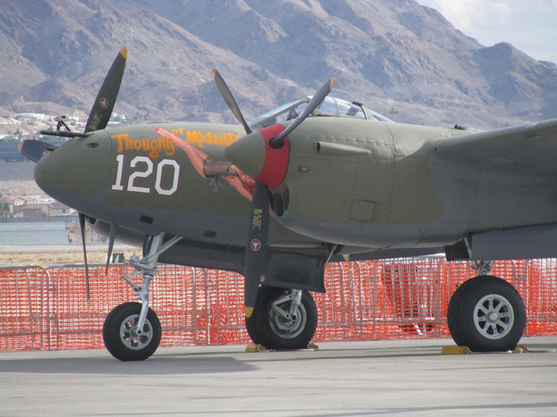 Lockheed P-38L Strele 4