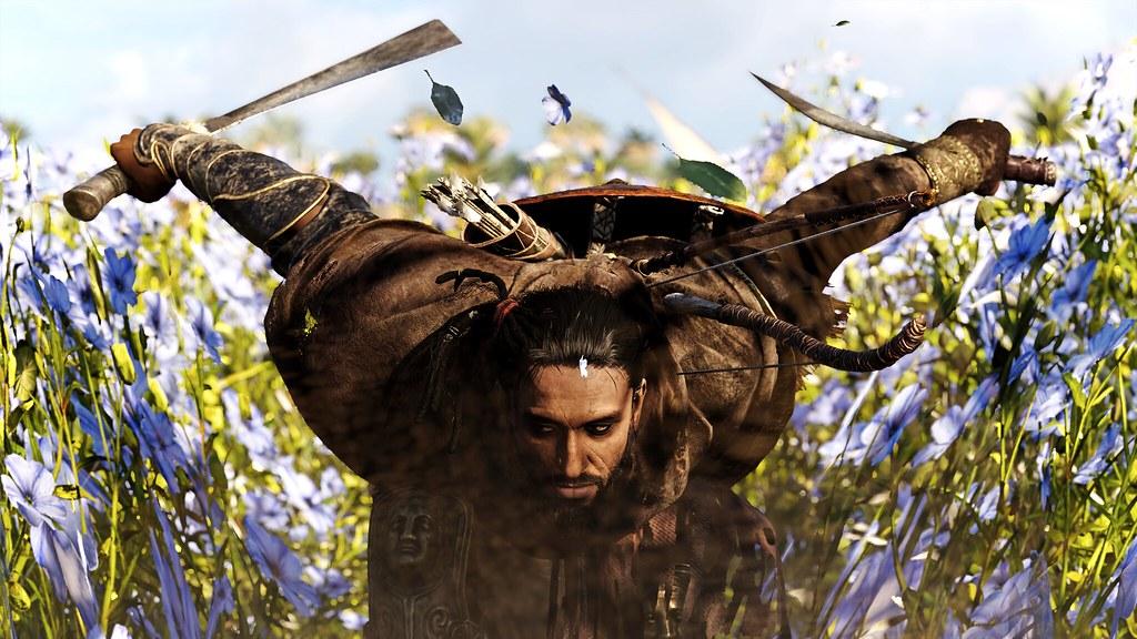 """Flower Field"" | Assassin's Creed Origins | Downsampled ..."