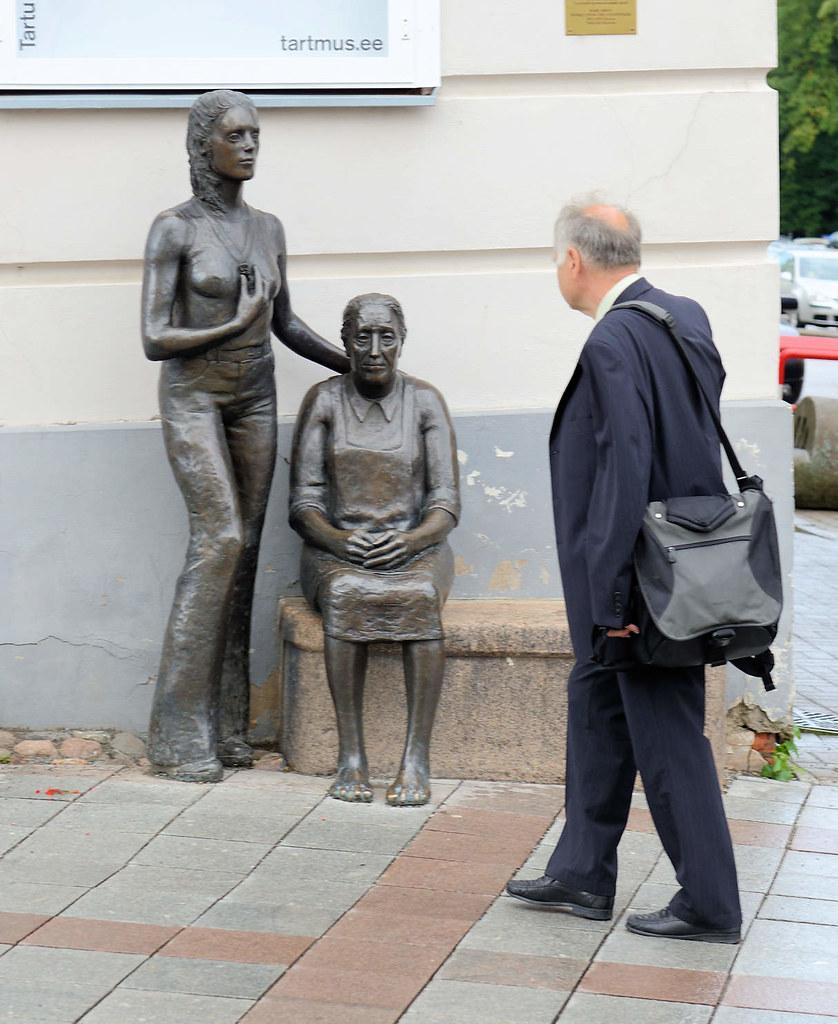 Alte junge frau oder Alte Frau