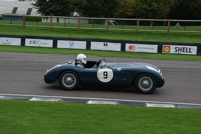 Jaguar C-Type 1952, Goodwood Revival Testing