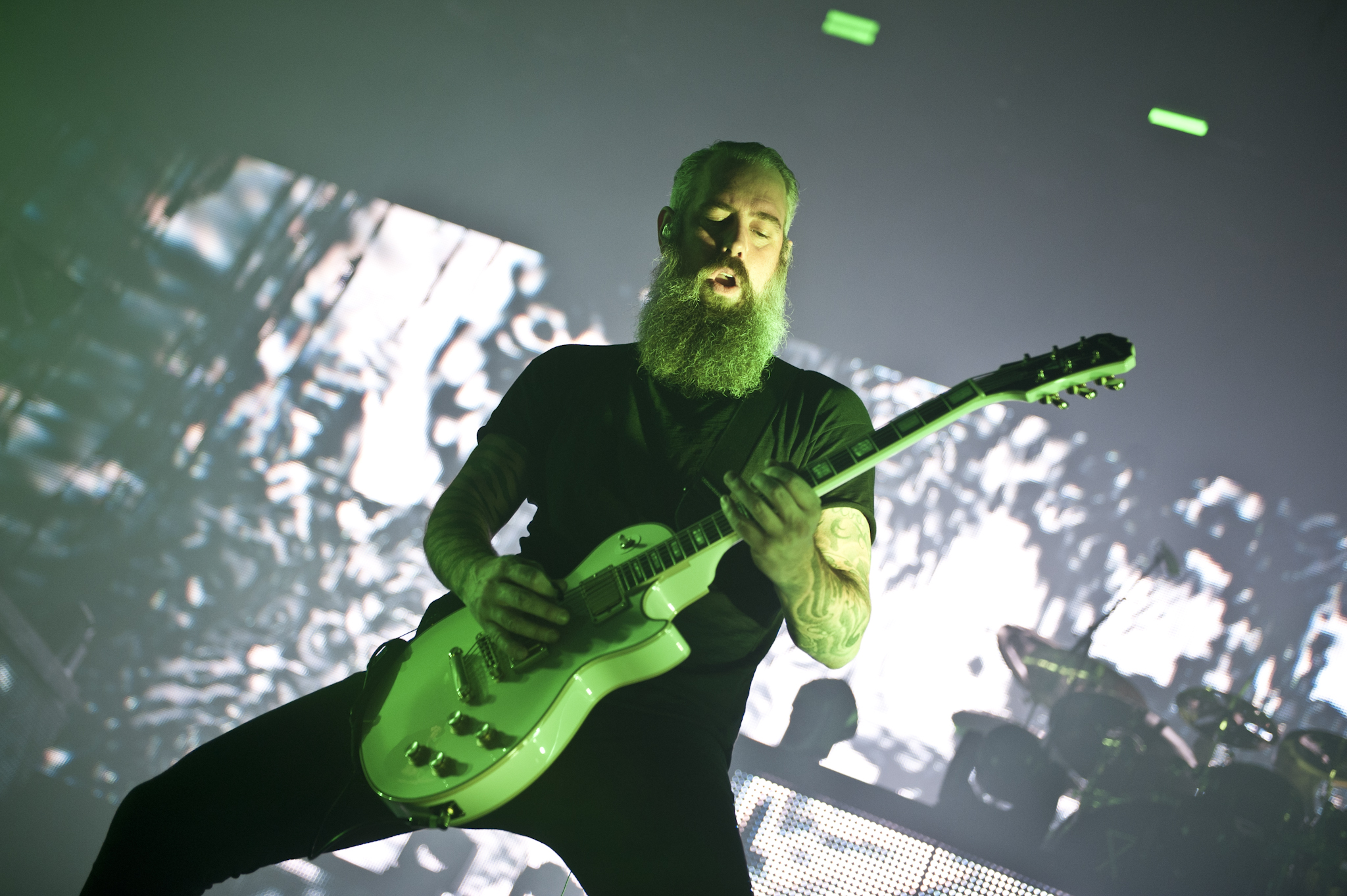 In Flames @ Lotto Arena 2017 (Daria Colaes)