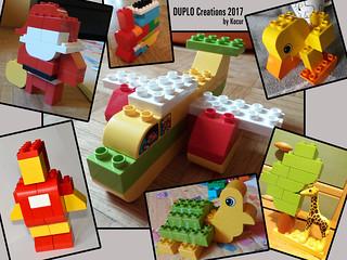 DUPLO Creations 2017   by kocurvelox