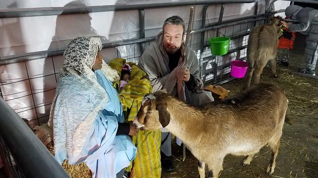 Mary, Joseph, Infant