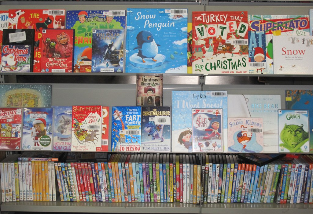 Christmas books for children at Pearse Street Library | Flickr