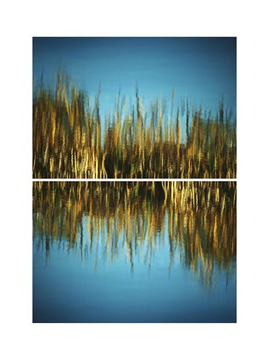 Reflet double / Double reflection 1975 | by bernard marenger photo imagination