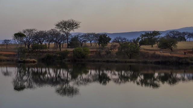 Lake in Swaziland