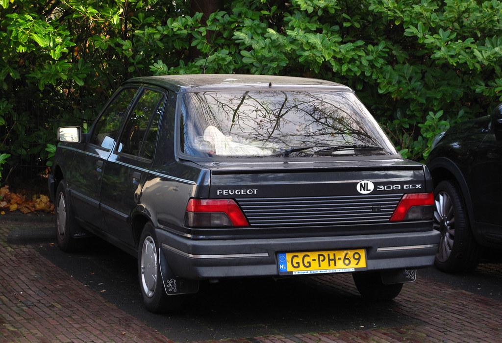 1993 Peugeot 309 Glx 1 4i Warmond Rutger Van Der Maar Flickr