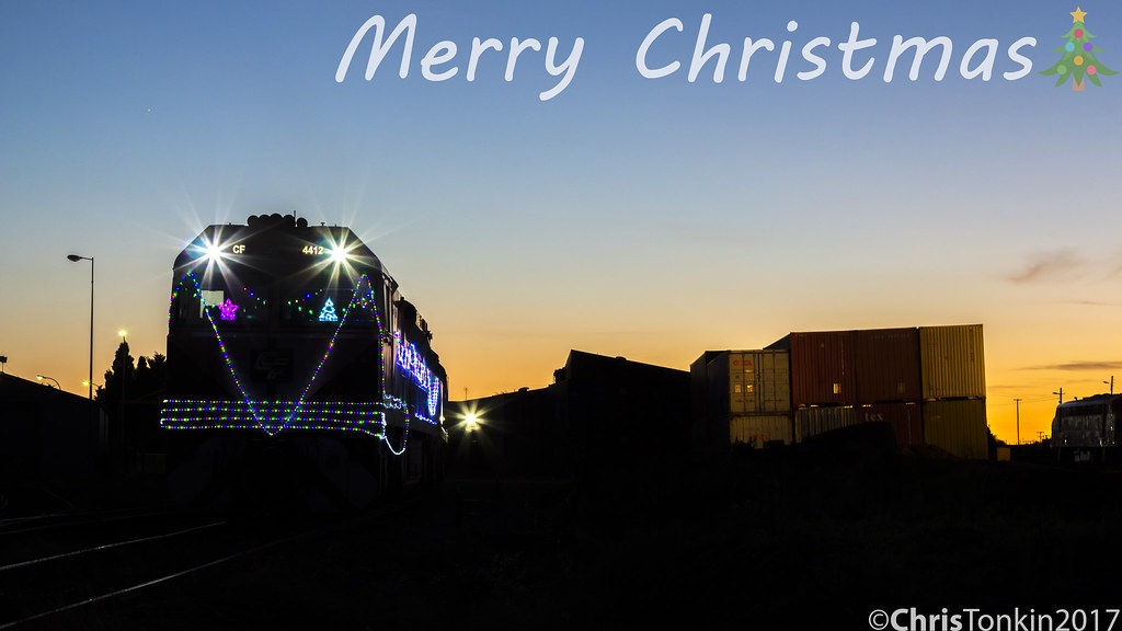 CFCLA CF4412 Merry Christmas by Chris Tonkin