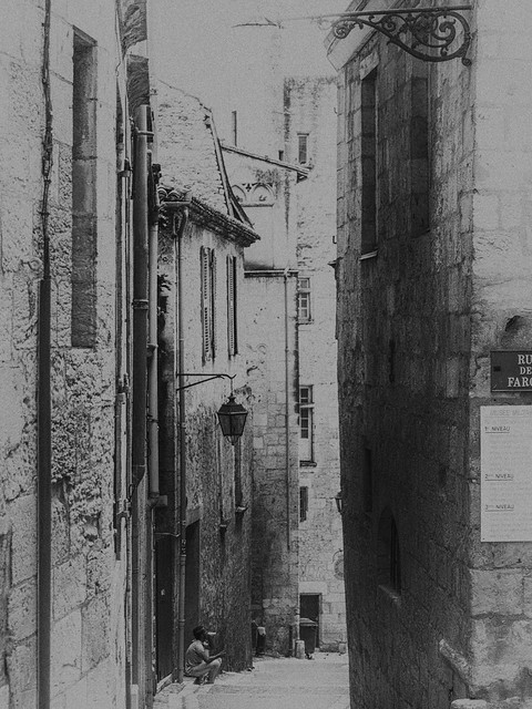 Perigueux back streets