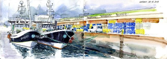 Lorient - Port de pêche - 29 12 2017