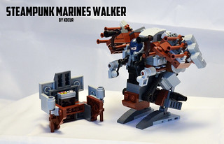Steampunk Walker 05 Front Panel | by kocurvelox