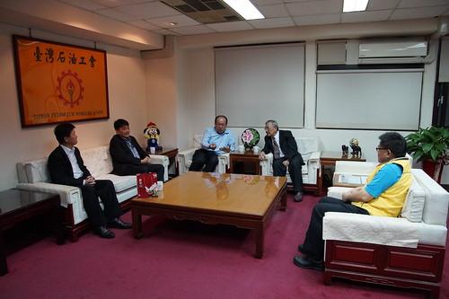 圖04台灣中油公司新任戴董事長蒞會拜會1061108
