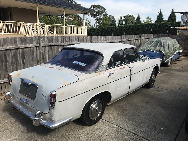 Last Drive in the Rover P5