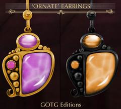 -Labyrinth- 'Ornate' Earrings GOTG Advert @ GG