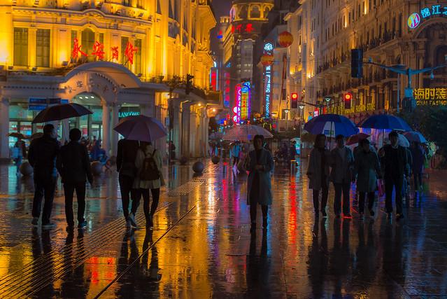 Raining Night in Shanghai
