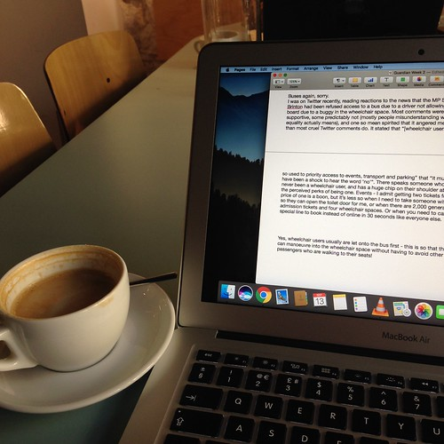 Working in the coffeeshop | by Nina Childish