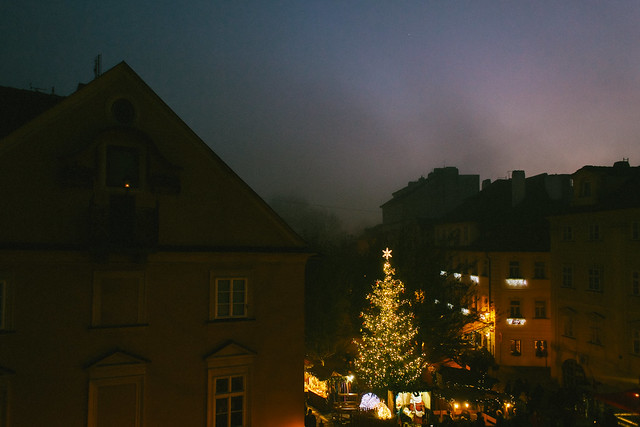 our small christmas in Prague