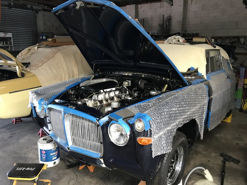 MKIIC Coupe Restoration
