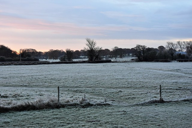 A frosty start to the day.