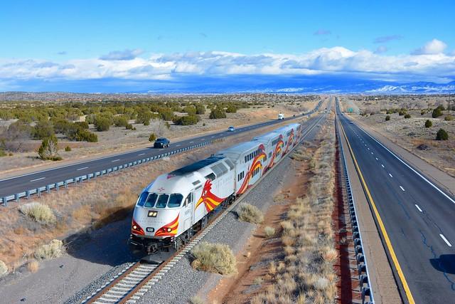 Rail Runner Express in Santa Fe