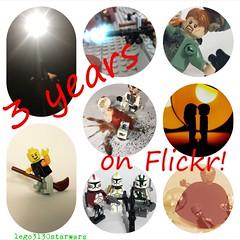 3 years on Flickr!!! lego3130starwars