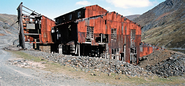 WMM007 - Cwmystwyth Mine - The Mill