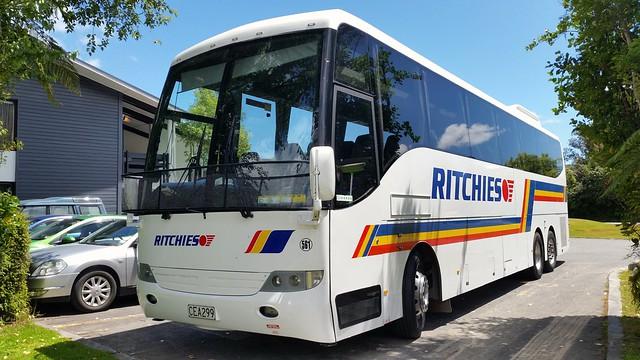 Green Bus 112 Dennis Trident/Plaxton President NK51UCJ