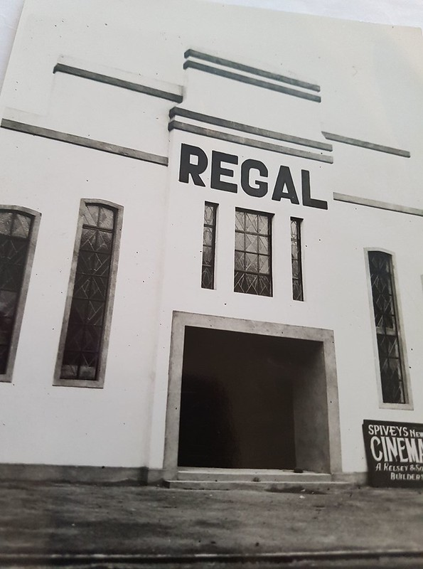 Regal Cinema under construction