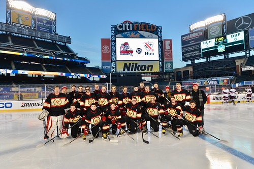 Hun Hockey plays at Citi Field
