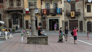 Piazza Grande at Arezzo
