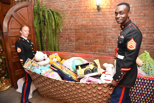 U.S. Embassy Marines and Commercial Section host Toys For