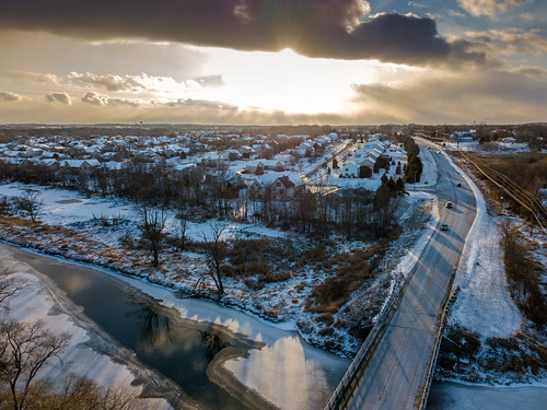 waukeshacounty usa 2017 dji christmasday2017 wisconsin drone mukwonago djimavicpro unitedstates aerialphotography aerial december us