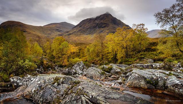 Autumn in Glen Etive