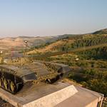 Tank memorial outside Shushi, Artsakh
