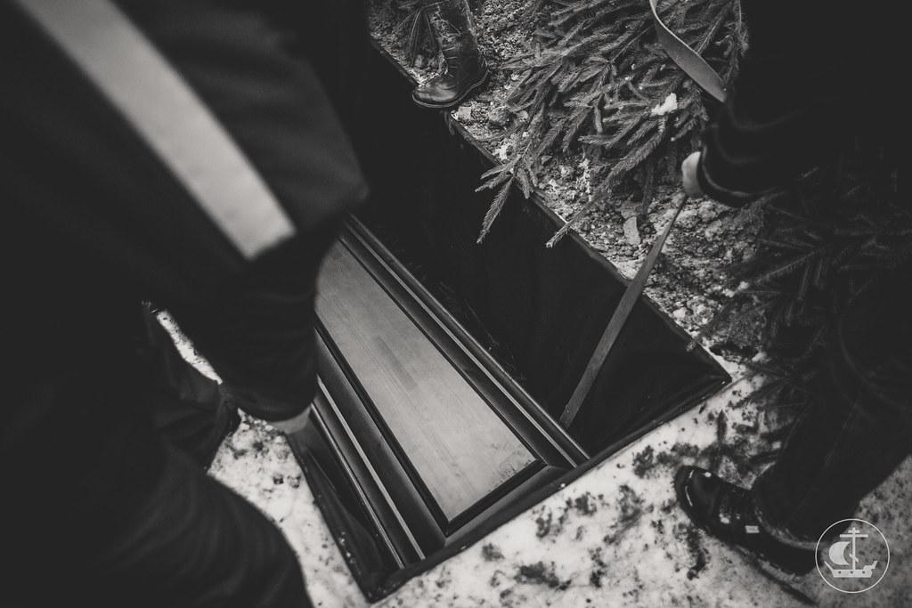 25 Декабря 2017, Прощание с отцом Ианнуарием (Ивлиевым) / 25 December 2017, Farewell to the father Iannoarius (Ivliev)
