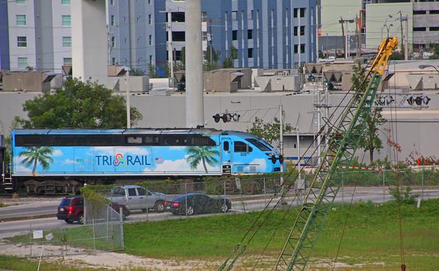 Tri-Rail Locomotive #826, Miami, Florida