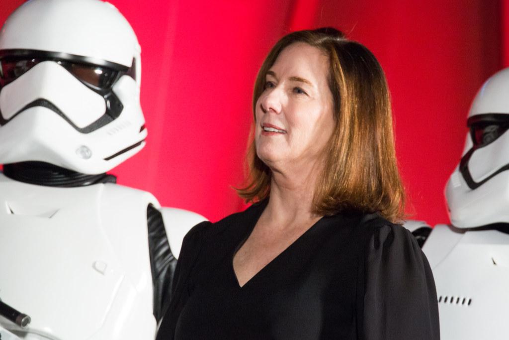 Star Wars: The Last Jedi Japan Premiere Red Carpet: Kathleen Kennedy