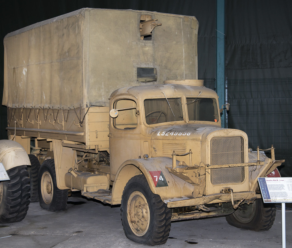 1943 Austin K6/A Lorry at the REME Bordon Museum