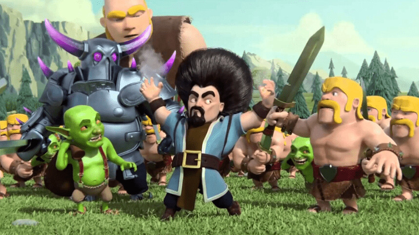 Clash of clans hd wallpaper free download